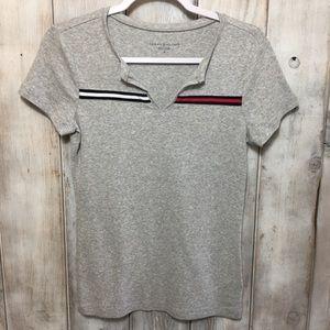 Tommy Hilfiger Light Gray Tee Shirt Size Small